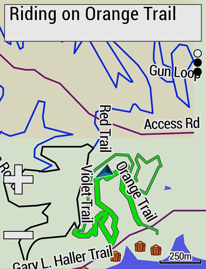 Дополнительные карты и маршруты в edge 530