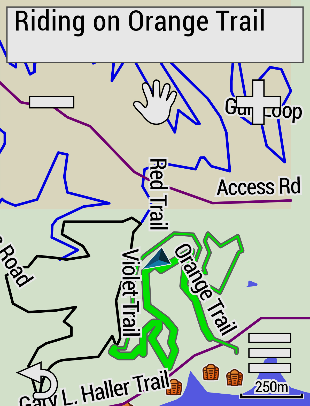 Дополнительные карты и маршруты в edge 830
