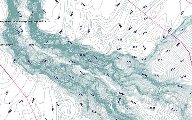 Detailed contours