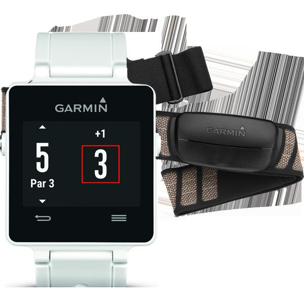 Купить Vivoactive HRM белый в интернет магазине Навигационныx систем и оборудования Garmin