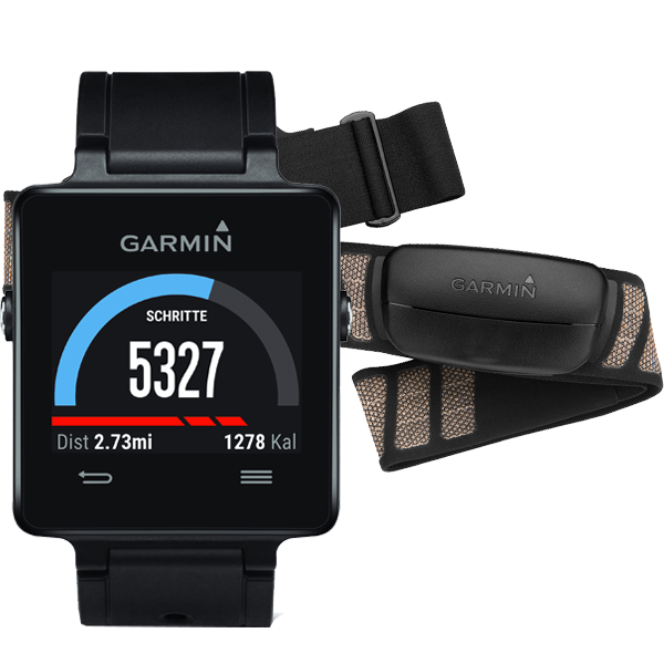 Купить Vivoactive HRM черный в интернет магазине Навигационныx систем и оборудования Garmin
