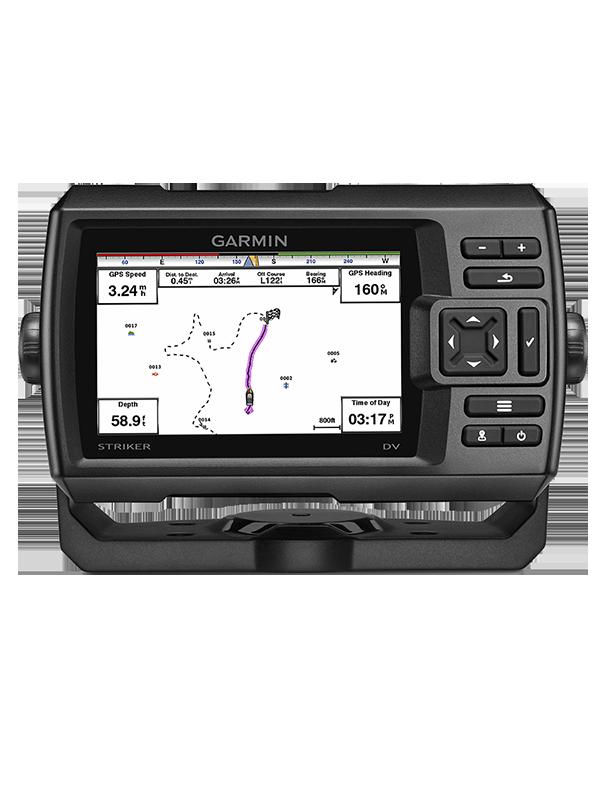Купить Striker 5dv/cv в интернет магазине Навигационныx систем и оборудования Garmin