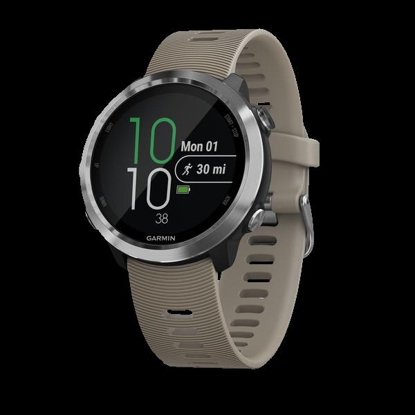 1b6a9528 Часы для бега Garmin Forerunner 645 цвет песочный покупайте в официальном  интернет-магазине Garmin. Качество гарантировано!