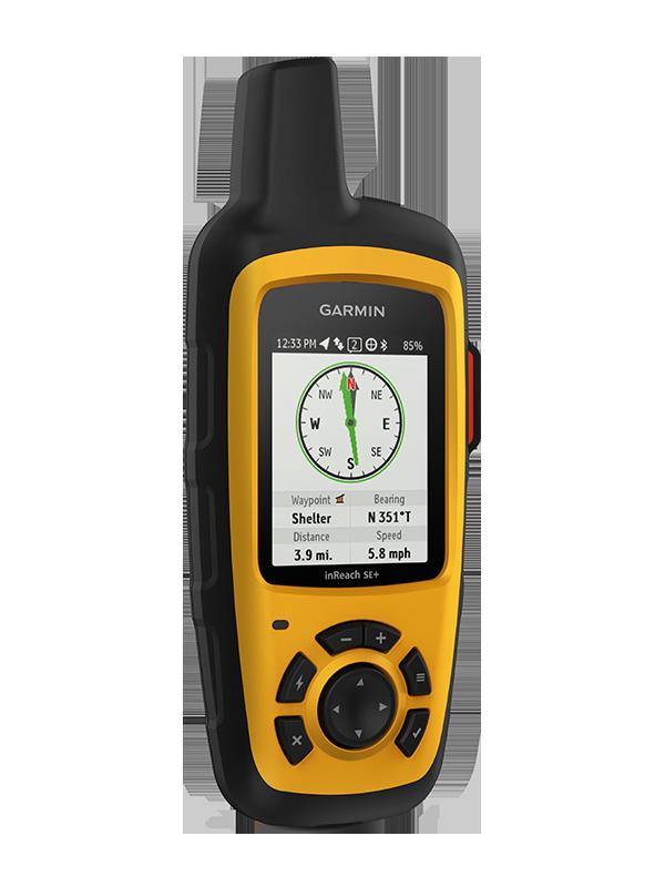Купить InReach SE+ туристический спутниковый коммуникатор с GPS в интернет магазине Навигационныx систем и оборудования Garmin