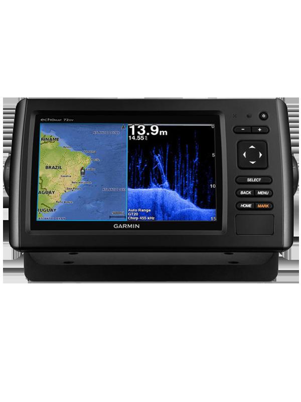 Купить Echomap chirp 72dv/cv в интернет магазине Навигационныx систем и оборудования Garmin