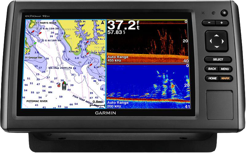 Купить Echomap chirp 92sv без трансдьюсера в интернет магазине Навигационныx систем и оборудования Garmin