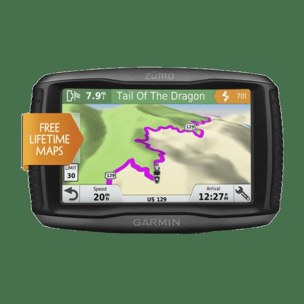 Купить Zumo 395 - защищенный навигатор 4,3 дюйма для квадро/мото в интернет магазине Навигационныx систем и оборудования Garmin