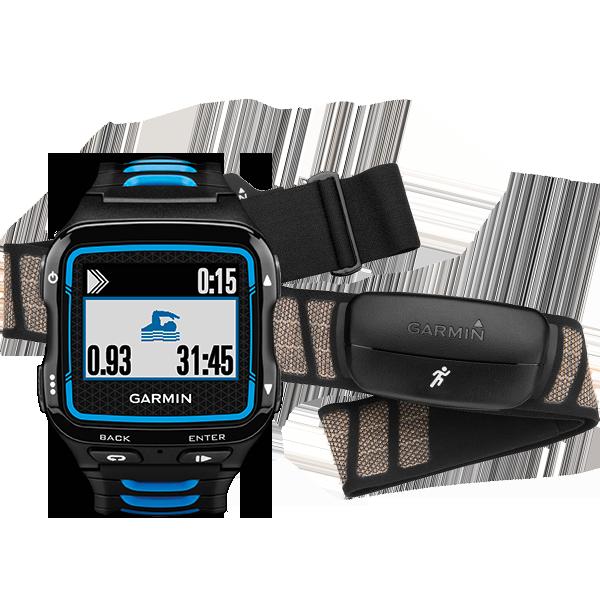 Купить Forerunner 920XT HRM Черно-синий. в интернет магазине Навигационныx систем и оборудования Garmin