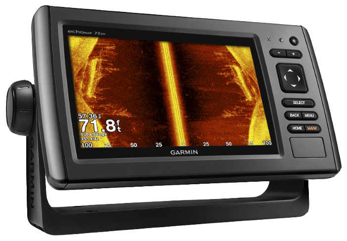 Купить Echomap chirp 72sv с трансдьюсером в интернет магазине Навигационныx систем и оборудования Garmin