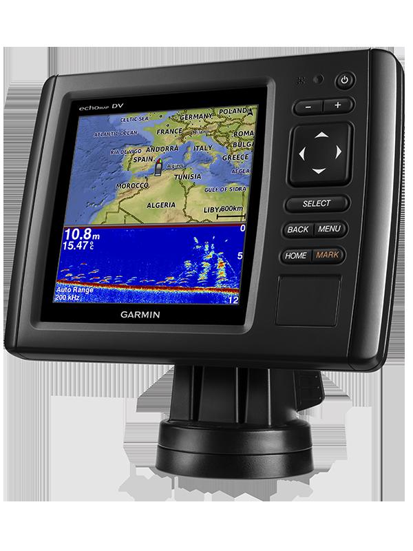 Купить Echomap chirp 52dv/cv в интернет магазине Навигационныx систем и оборудования Garmin