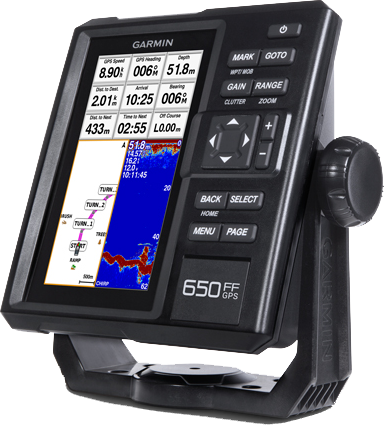 Купить FishFinder 650 GPS с трансдьюсером GT20-TM в интернет магазине Навигационныx систем и оборудования Garmin