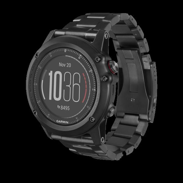 Купить Fenix 3 Sapphire HR титановым браслетом в интернет магазине Навигационныx систем и оборудования Garmin