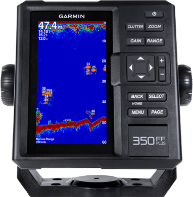 FishFinder 350 PLUS с трансдьюсером GT20-TM