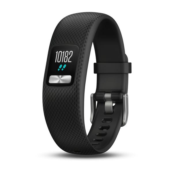 Купить Garmin Vivofit 4 черный стандартного размера (умный фитнесс браслет) - цена, отзывы