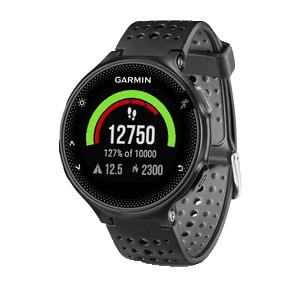 Купить Forerunner 235 черно-серые в интернет магазине Навигационныx систем и оборудования Garmin