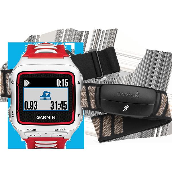 Купить Forerunner 920XT HRM Бело-красный в интернет магазине Навигационныx систем и оборудования Garmin
