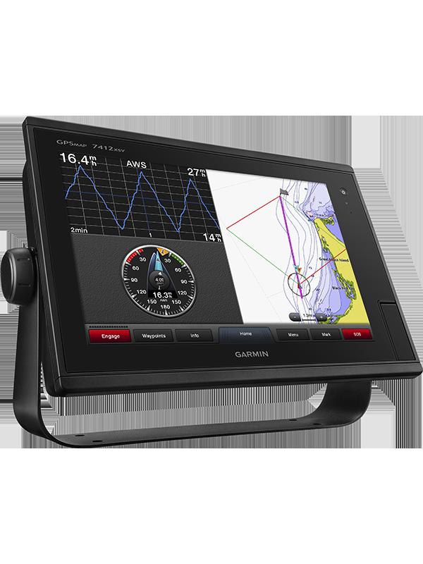 Купить Gpsmap 7412xsv в интернет магазине Навигационныx систем и оборудования Garmin