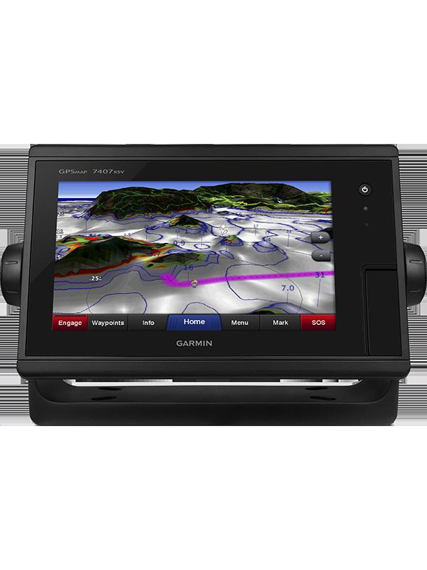 Купить Gpsmap 7407xsv в интернет магазине Навигационныx систем и оборудования Garmin