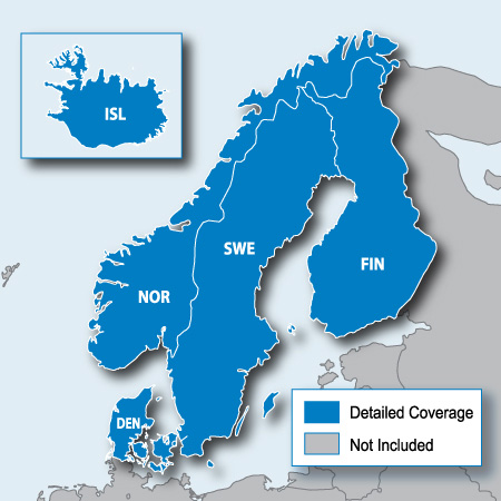 City Navigator Europe NT – Nordics