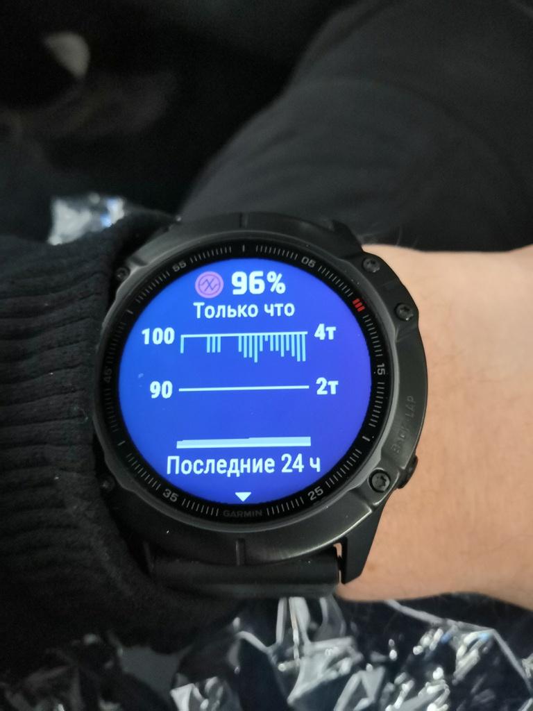 fenix 6x pro - спортивные часы