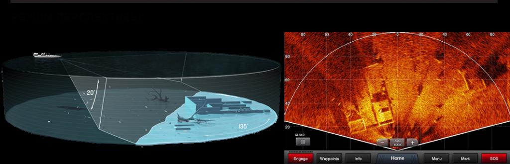 Крепление Perspective Mode для трансдьюсера LiveScope LVS32
