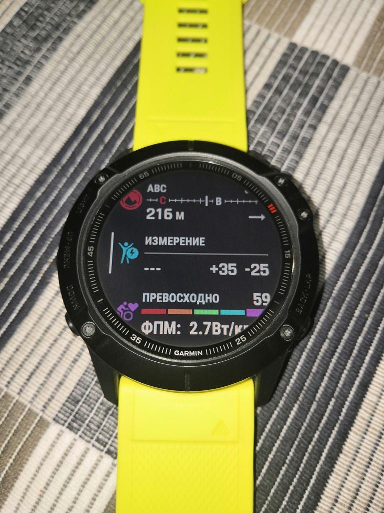 умные спортивные часы Garmin Fenix