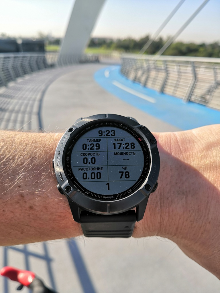 Fenix 6x Pro часы спортивные