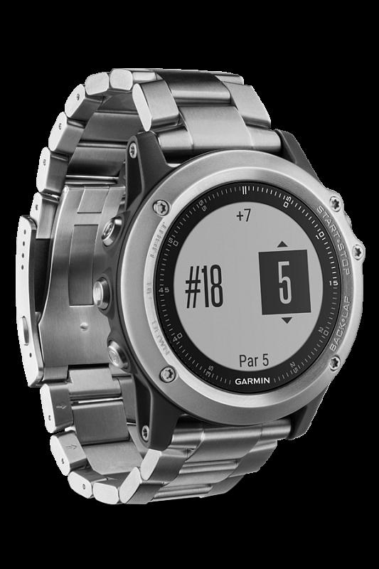 Купить Fenix 3 HR Silver с титановым браслетом в интернет магазине Навигационныx систем и оборудования Garmin