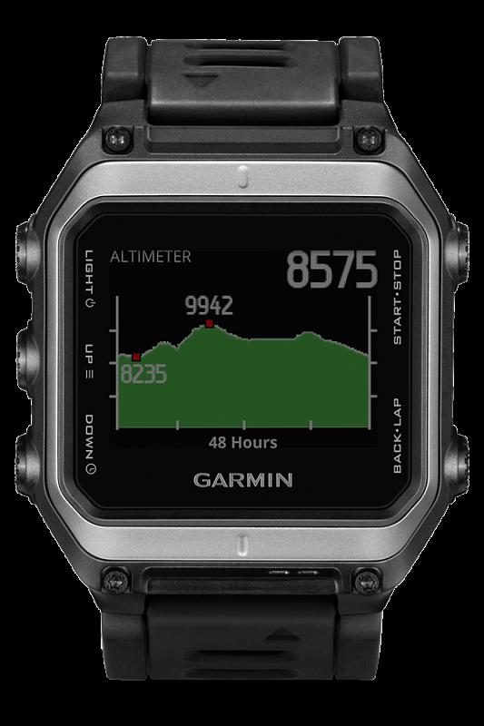 Купить Epix - умные часы для туризма с топокартой в интернет магазине Навигационныx систем и оборудования Garmin