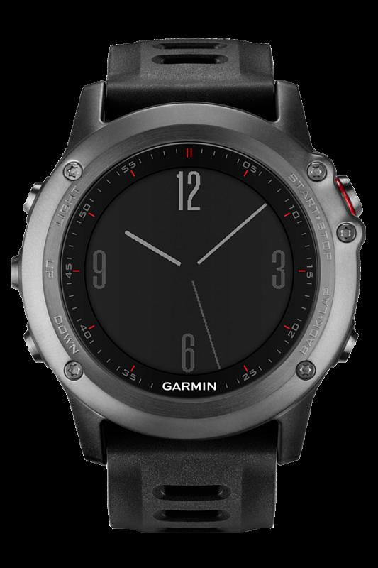 Купить Fenix 3 серый с черным ремешком в интернет магазине Навигационныx систем и оборудования Garmin