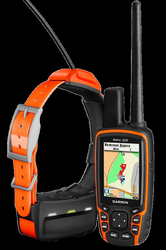 Купить Astro 320 с ошейником T5 в кейсе в интернет магазине Навигационныx систем и оборудования Garmin