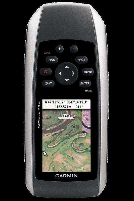 Купить Gpsmap 78 - навигатор с цветным экраном, возможностью загрузки карт и положительной плавучестью в интернет магазине Навигационныx систем и оборудования Garmin