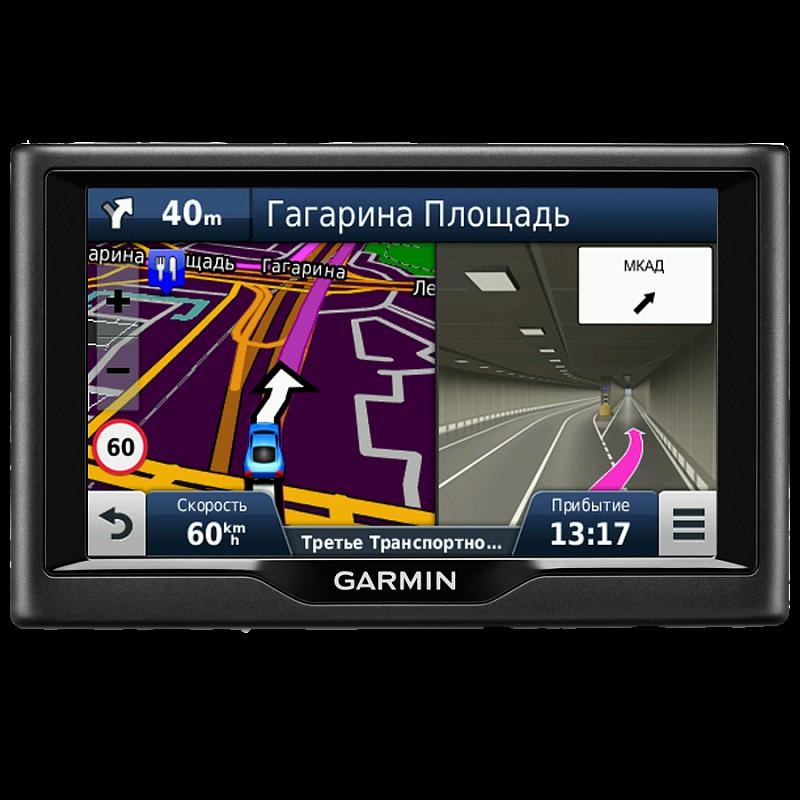 Купить Nuvi 57LMT Russia - навигатор 5 дюймов с картой России, базой Foursquare и трафиком в интернет магазине Навигационныx систем и оборудования Garmin