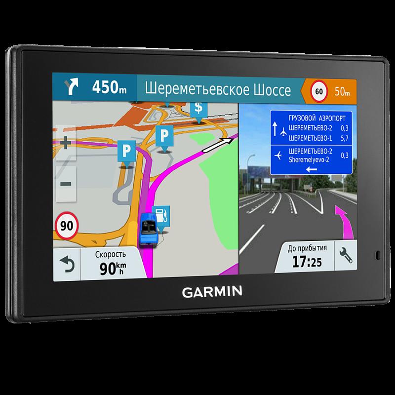 Купить DriveSmart 50 LM Europe - навигатор 5 дюймов с уведомлениями со смартфона и картой Европы в интернет магазине Навигационныx систем и оборудования Garmin