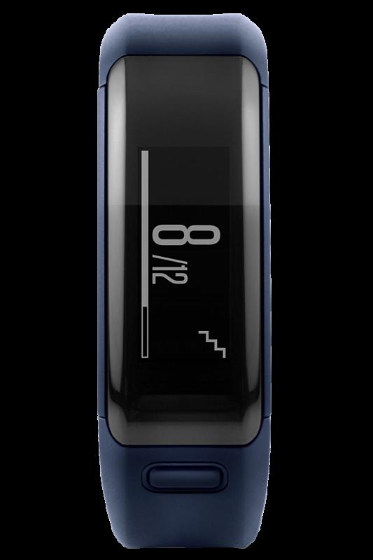 Купить Vivosmart HR синий стандартный размер в интернет магазине Навигационныx систем и оборудования Garmin