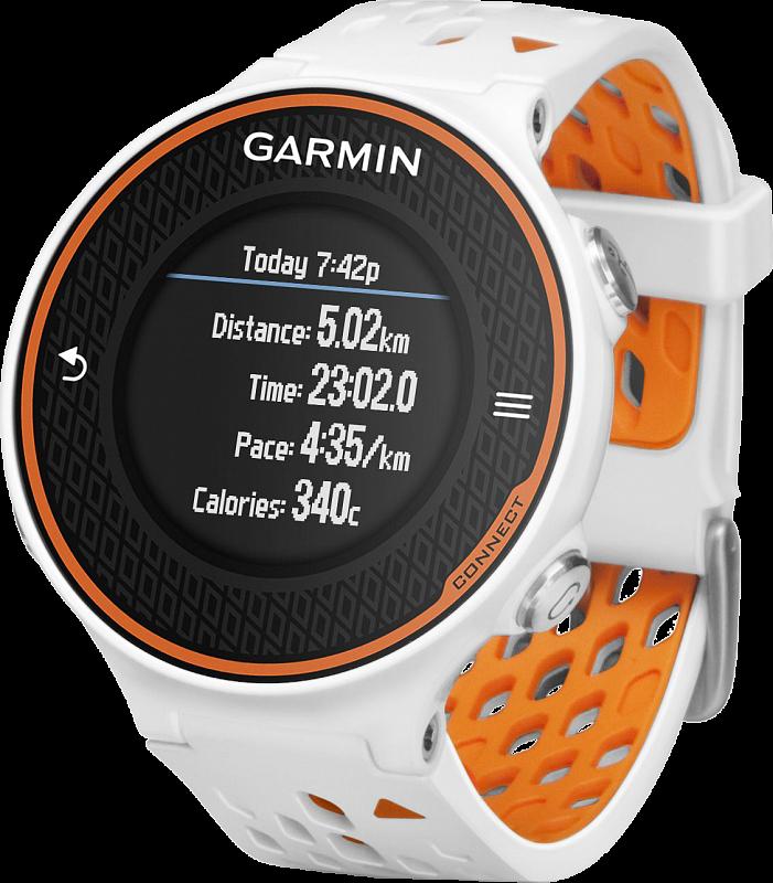 Купить Forerunner 620 HRM Russia бело-оранжевый в интернет магазине Навигационныx систем и оборудования Garmin