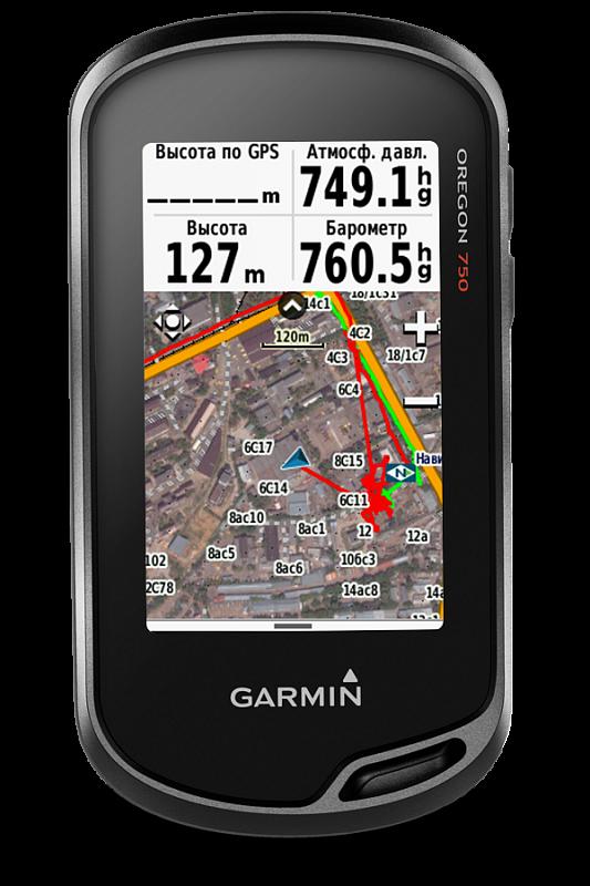Купить Oregon 750 туристический навигатор с сенсорным экраном, топокартой, ГЛОНАСС и фотокамерой со вспышкой в интернет магазине Навигационныx систем и оборудования Garmin