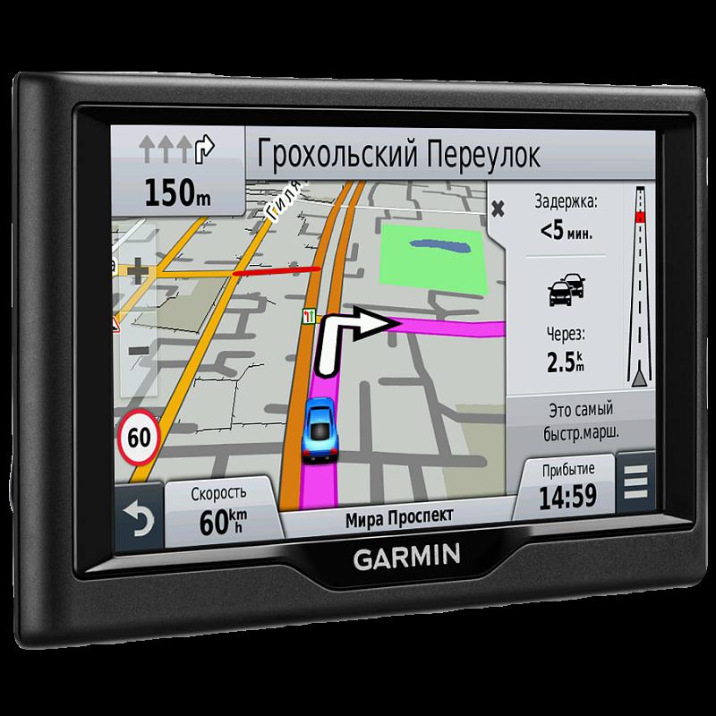Купить Nuvi 58LM Europe - навигатор 5 дюймов с картой Европы, базой объектов Foursquare в интернет магазине Навигационныx систем и оборудования Garmin