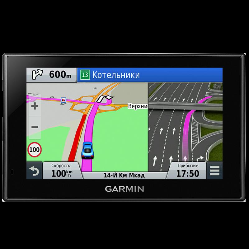 Купить Nuvi 2689LMT Russia - навигатор 6,1 дюйма с картой России и функцией pinch-to-zoom в интернет магазине Навигационныx систем и оборудования Garmin