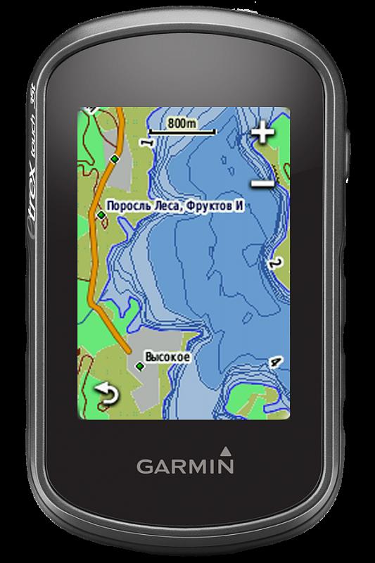 Купить eTrex touch 35 - компактный навигатор с картами, сенсорным экраном, компасом, барометром и связью со смартфоном в интернет магазине Навигационныx систем и оборудования Garmin