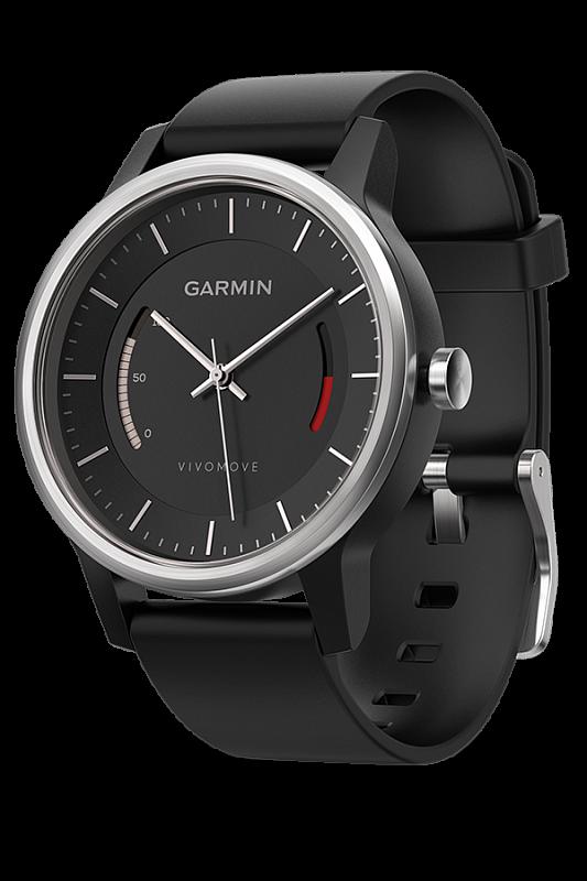 Купить Vivomove Sport со спортивным браслетом черные в интернет магазине Навигационныx систем и оборудования Garmin