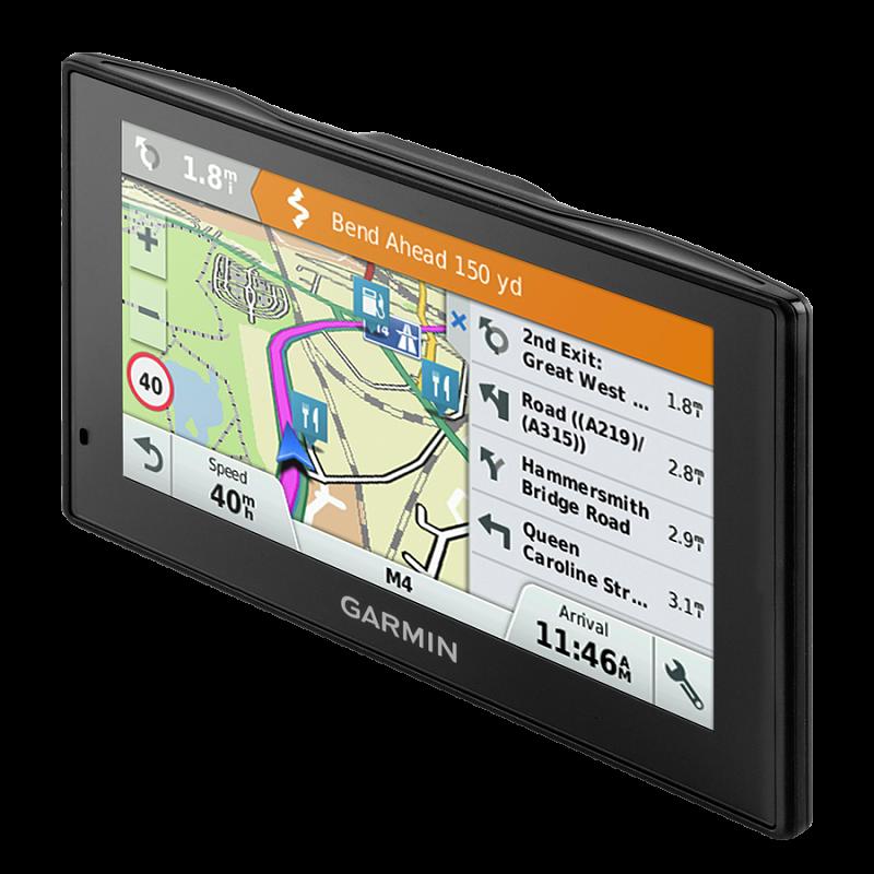 Купить DriveAssist 50 LMT Europe - навигатор 5 дюймов с видеор-ром, картами Европы и трафиком в интернет магазине Навигационныx систем и оборудования Garmin