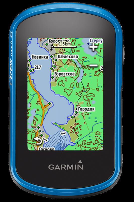 Купить eTrex touch 25 - компактный навигатор с картами, сенсорным экраном и компасом в интернет магазине Навигационныx систем и оборудования Garmin