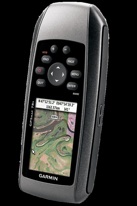 Купить Gpsmap 78s Russia - навигатор с цветным экраном, загруженными топокартами, барометром, компасом в интернет магазине Навигационныx систем и оборудования Garmin