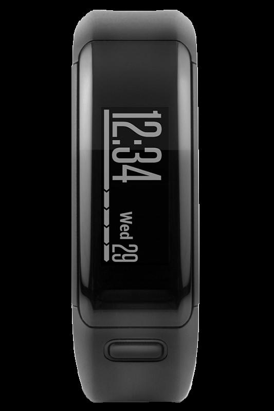 Купить Vivosmart HR черный стандартный размер в интернет магазине Навигационныx систем и оборудования Garmin