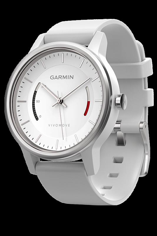 Купить Vivomove Sport со спортивным браслетом белые в интернет магазине Навигационныx систем и оборудования Garmin