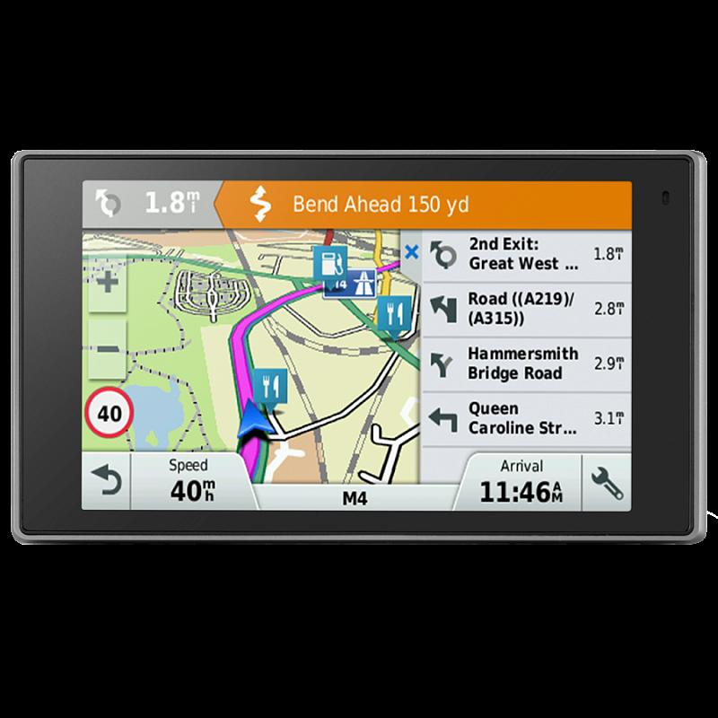 """Купить DriveLuxe 50 LM Europe - навигатор 5 дюймов, исполнение """"премиум"""" с картой Европы в интернет магазине Навигационныx систем и оборудования Garmin"""