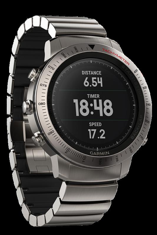 Купить Fenix Chronos титановый с титановым браслетом в интернет магазине Навигационныx систем и оборудования Garmin